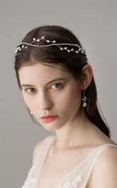 Simple Style Headbands with Beads