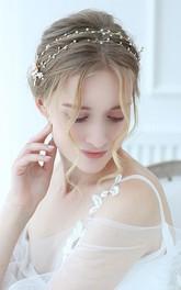 Ladies Beautiful Rhinestone Beaded Headbands
