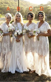 Modest Jewel Neck Long Sleeve Lace Bridal Gown With Ruching And Pleats
