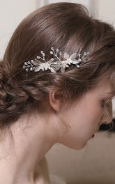 Delicate Crystal Beautiful Hair Combs