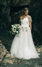 Rhinestone Wedding Paige Ivory Gown