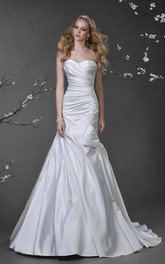 Sleeveless Criss Cross Bow Long A-Line Dress