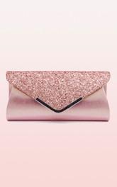 Sequin Flap Envelope Clutch