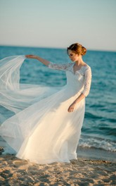 Classic Bridal White Dress