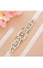 Bridal Rhinestone Belt