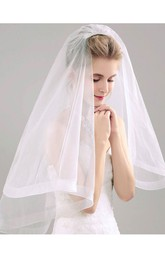 Fairy Shoulder Tulle Bridal Veil With Hair Comb