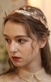 Forest Style Headpieces with Rhinestones