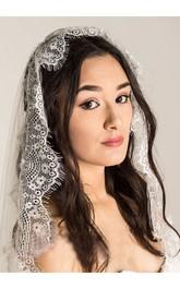 Bridal Veil With Lace Vintage Soft New Wedding Lace Wedding Veil Headdress