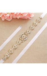 Elegant Bridal Beaded Belt