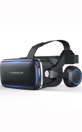 VR Headset Compatible with iPhone & Android Phone 3D Glasses Virtual Reality Headset for VR Games & 3D Movies