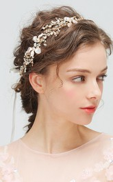 Ladies Pretty Headbands with Flowers and Leaves