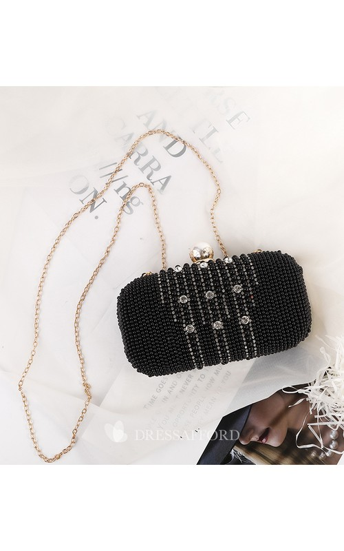 Black Crystal Clutch