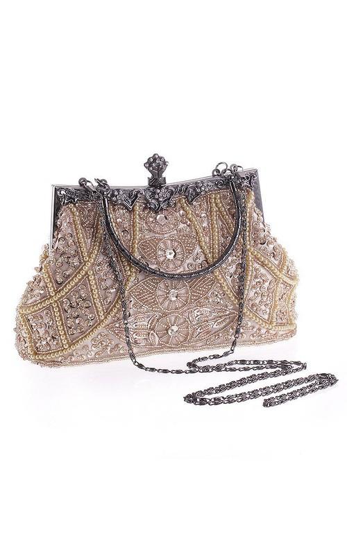 Classic Beaded Handbag