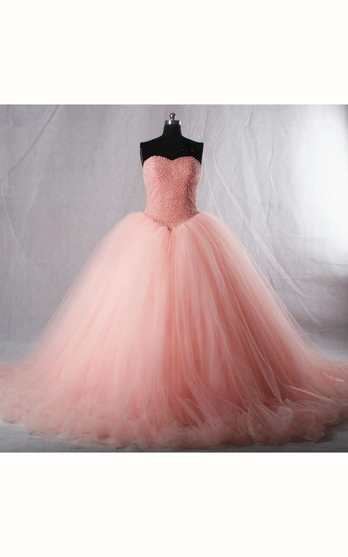 Tea-Length Straps Corset Sweetheart Bell Jeweled Pleats Tiered Dress