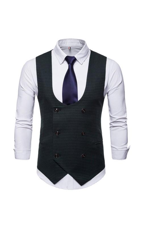 Cotton Classic Men's Vest-3 Color Options